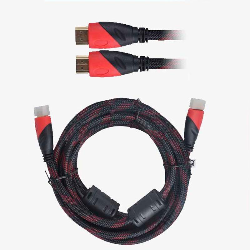 Imagen de Cable de conexión HDMI V1.4 de 3 metros funda de nylon y doble filtro.