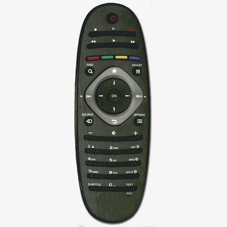 Imagen de Mando a distancia recambio del Philips RC2813803