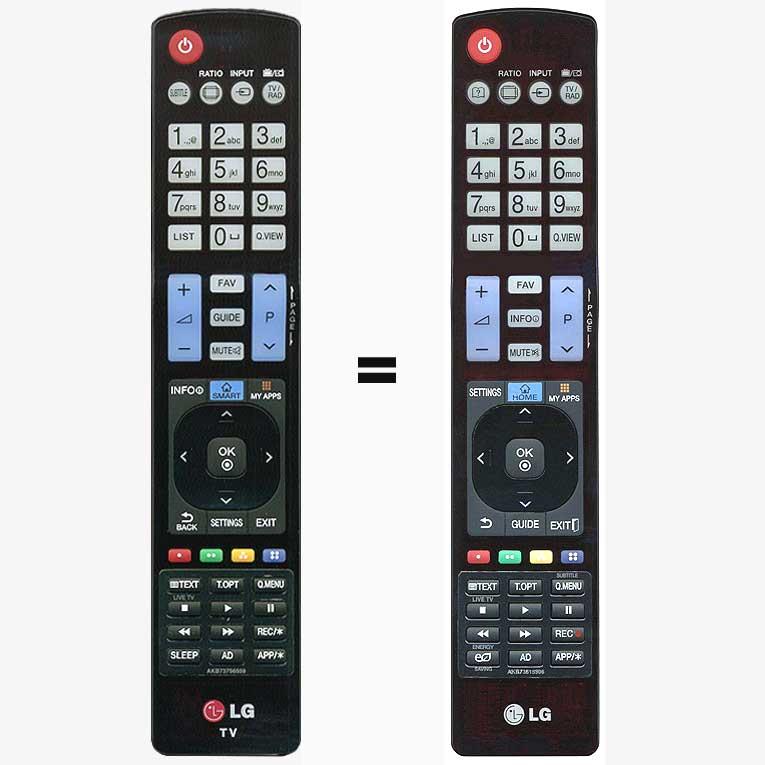 Imagen de Mando a distancia LG AKB73756559 sustituye al LG AKB73615306