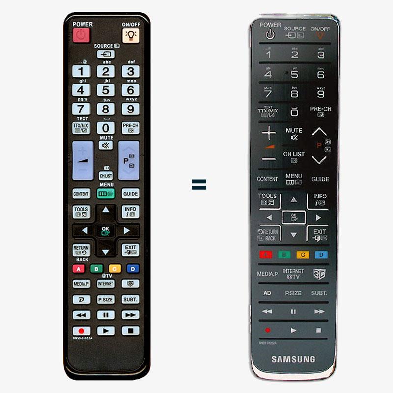 Imagen de Mando a distancia recambio del Samsung BN59-01052A y BN59-01054A