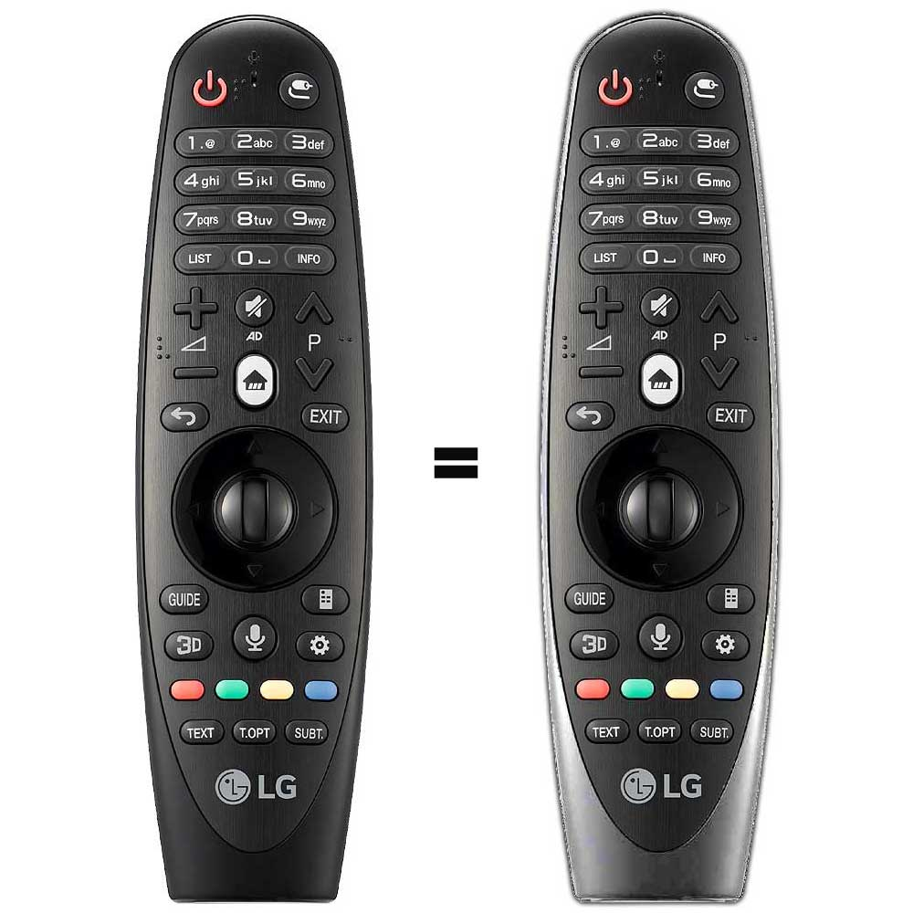 Imagen de Mando a distancia SmartTV LG modelo AKB74495301 / AKB74515301