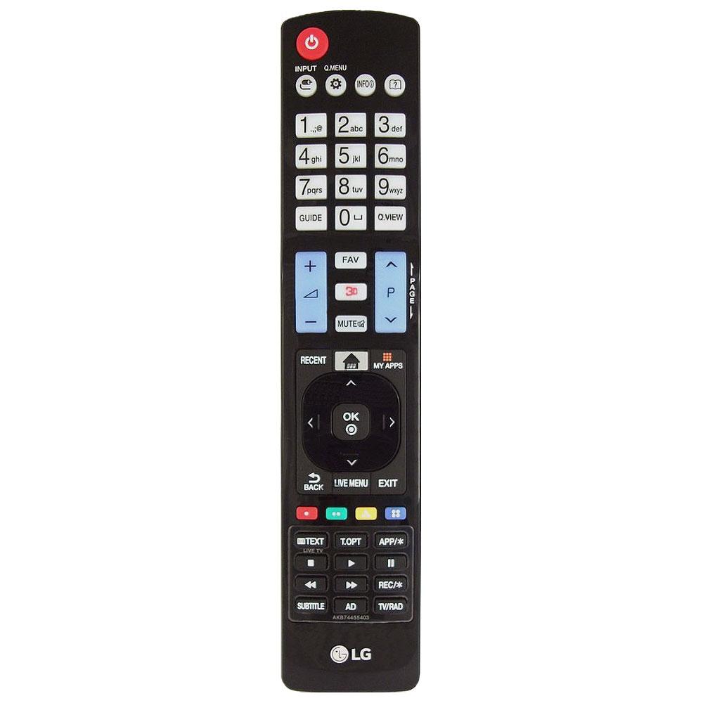 Imagen de Mando a distancia LG AKB74455403 repuesto original para televisión LG