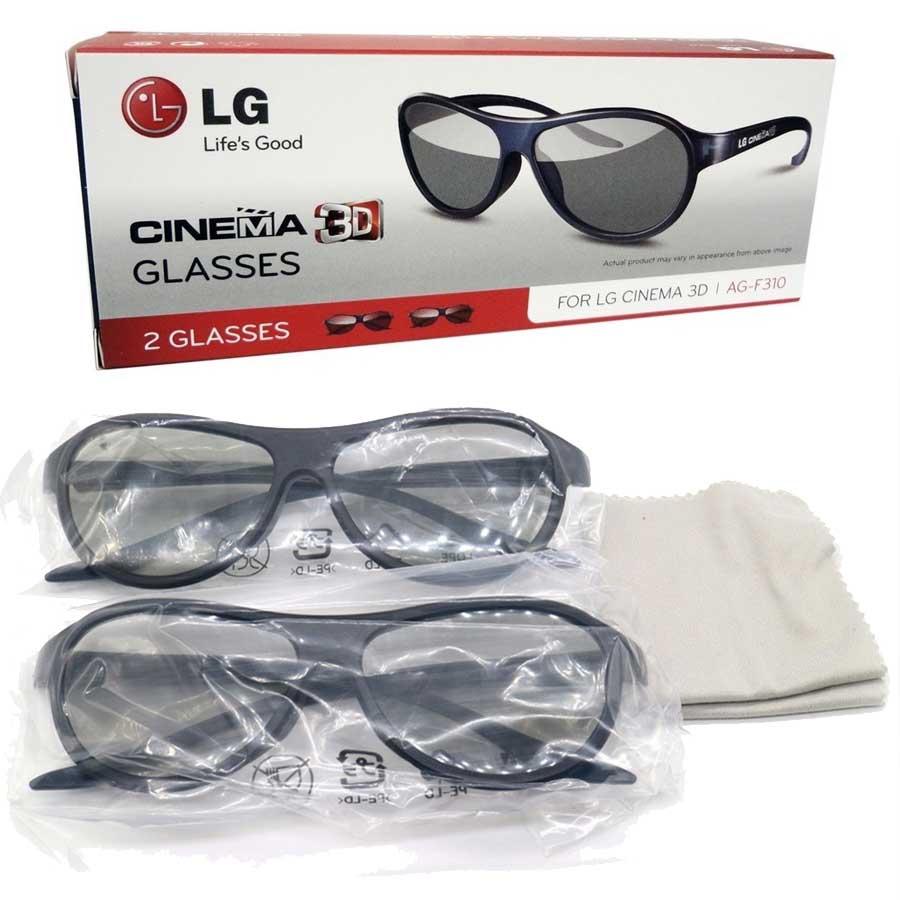Imagen de AG-F310 Gafas 3D para televiones LG. Pack de 2 unidades