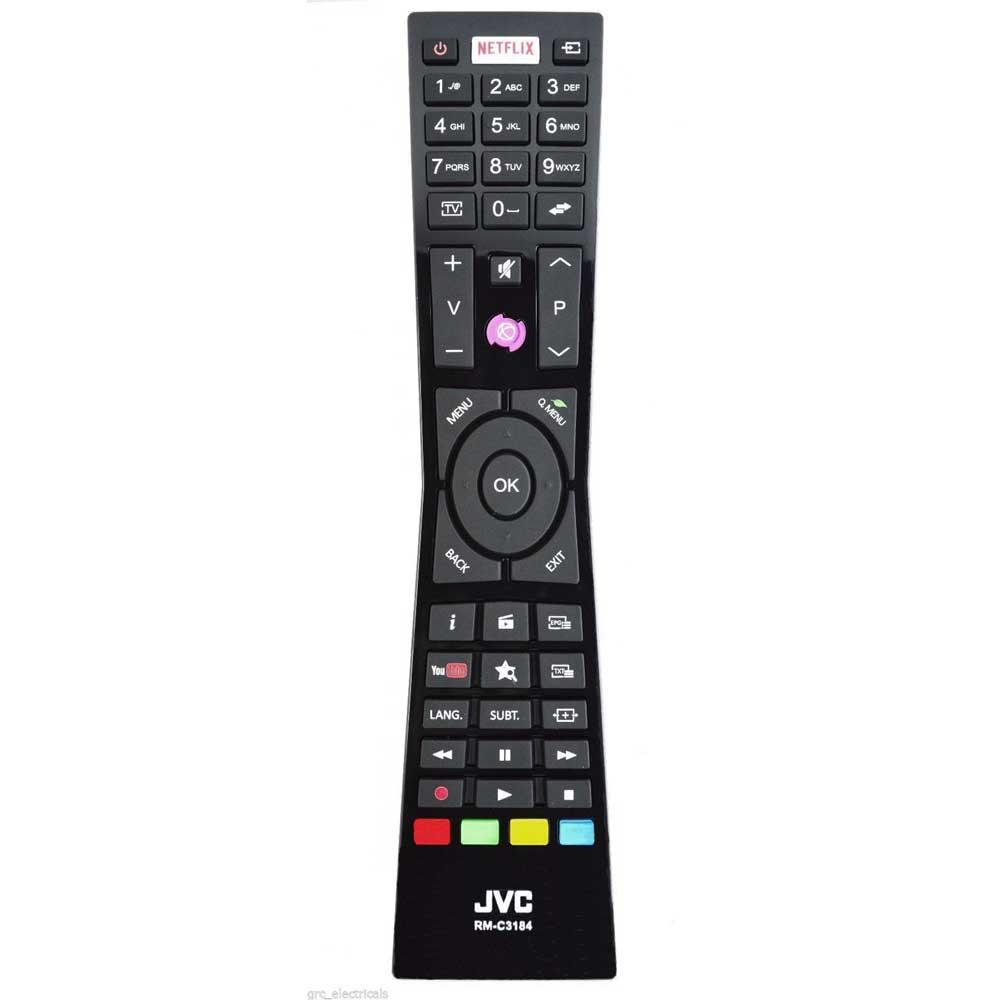 Imagen de Mando a distancia JVC RM-C3184, RCA2-49101