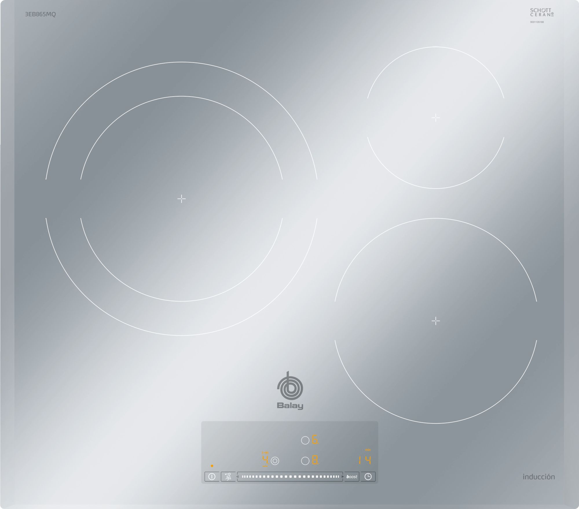 Imagen de Placa de inducción Balay 3EB865MQ