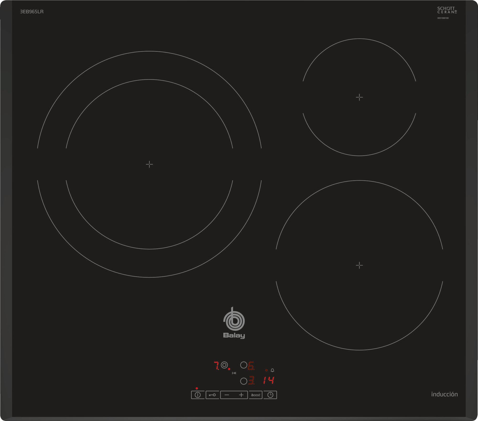 Imagen de Placa de inducción Balay 3EB965LR