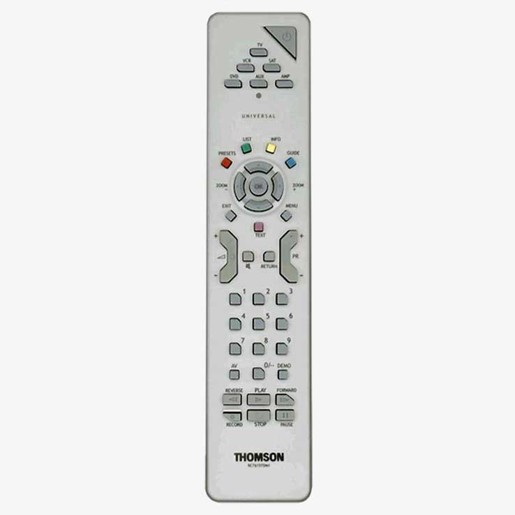 Mando a distancia TV original Thomson RCT615 TDM1