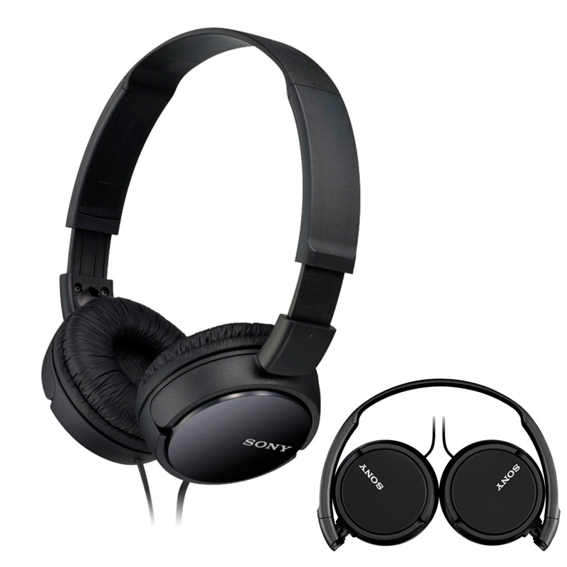 Imagen de Auricular Sony MDRZX110B Color Negro