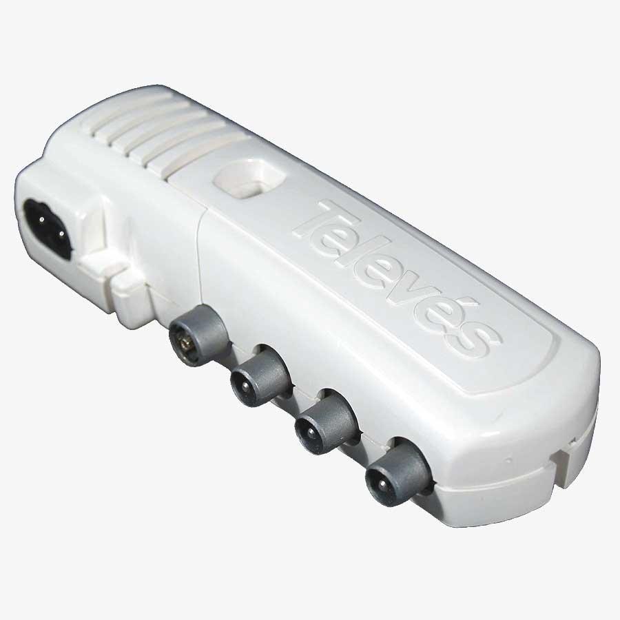 Tdt amplificadores alimentadores televes 5528 televes s a - Amplificador de antena interior ...