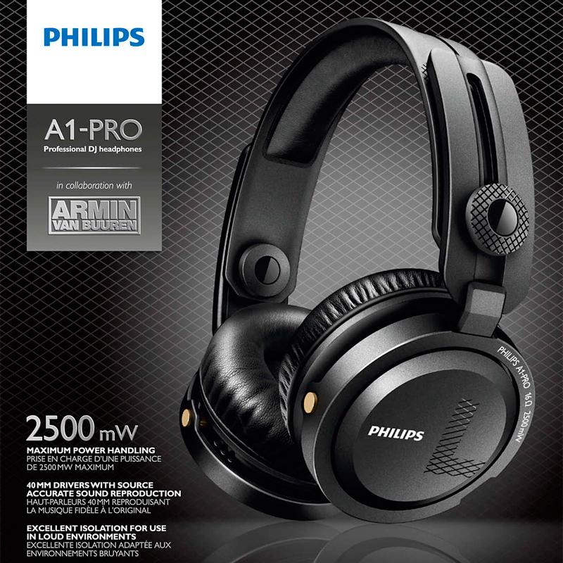 Imagen de Auricular Philips A1PRO/00 profesional Dj