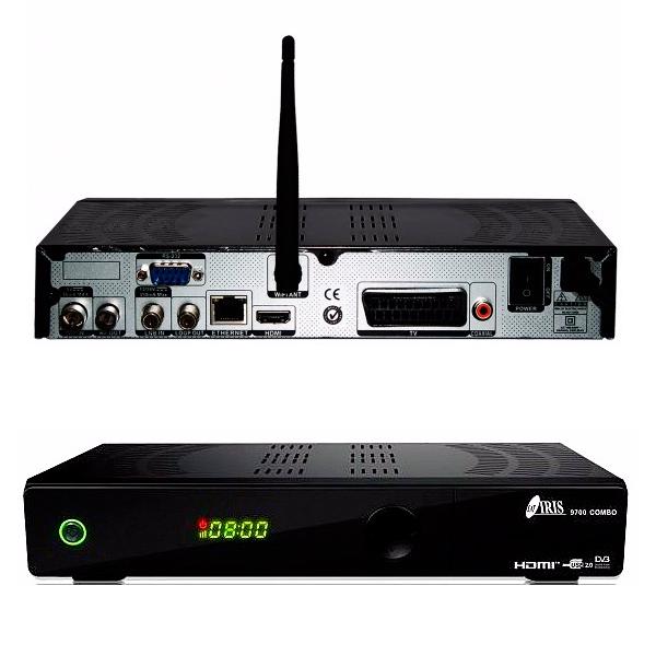 Imagen de Receptor Satélite IRIS 9700 HD Combo + HDMI
