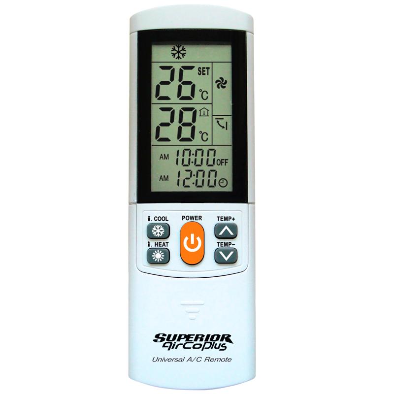 Imagen de Mando universal para aire acondicionado Aircoplus 2000 códigos