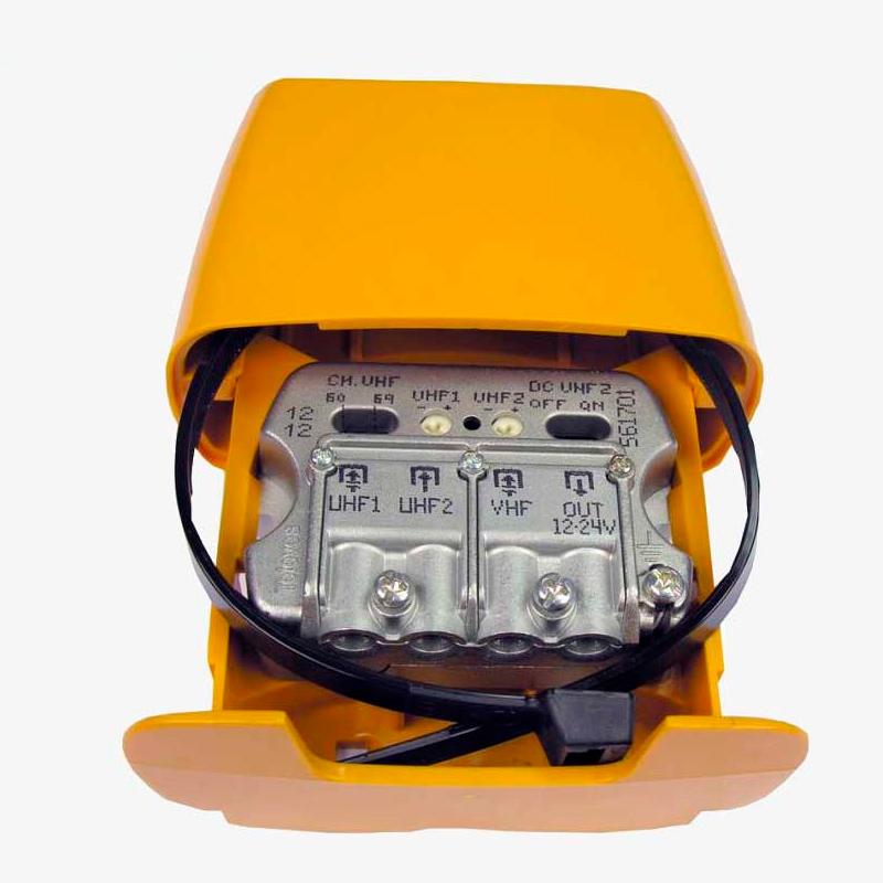 Imagen de Amplificador para TDT Televes 561701 con filtro LTE.