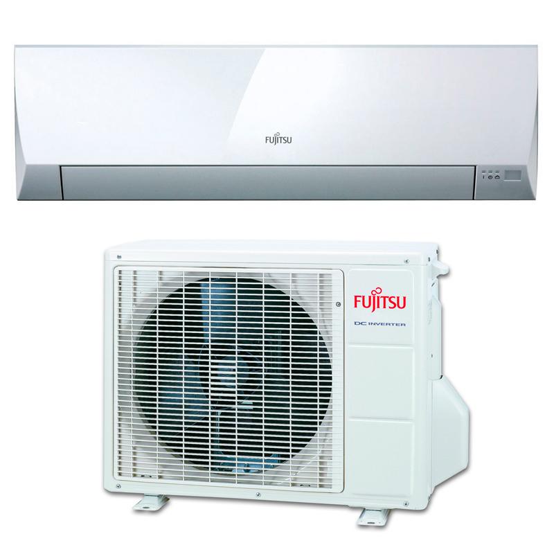 Fujitsu asy35uillcc aire acondicionado inverter bajo consumo for Aire acondicionado aparato exterior