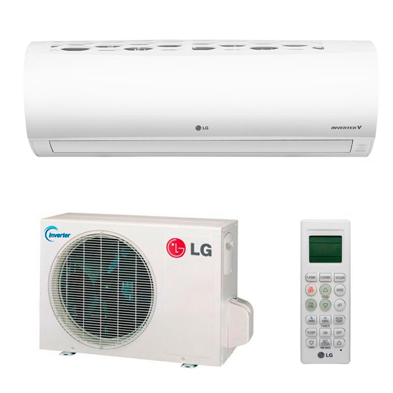 Imagen de Aire acondicionado inverter LG FRESH12 3010Frg. / 3268 Kcal. A+