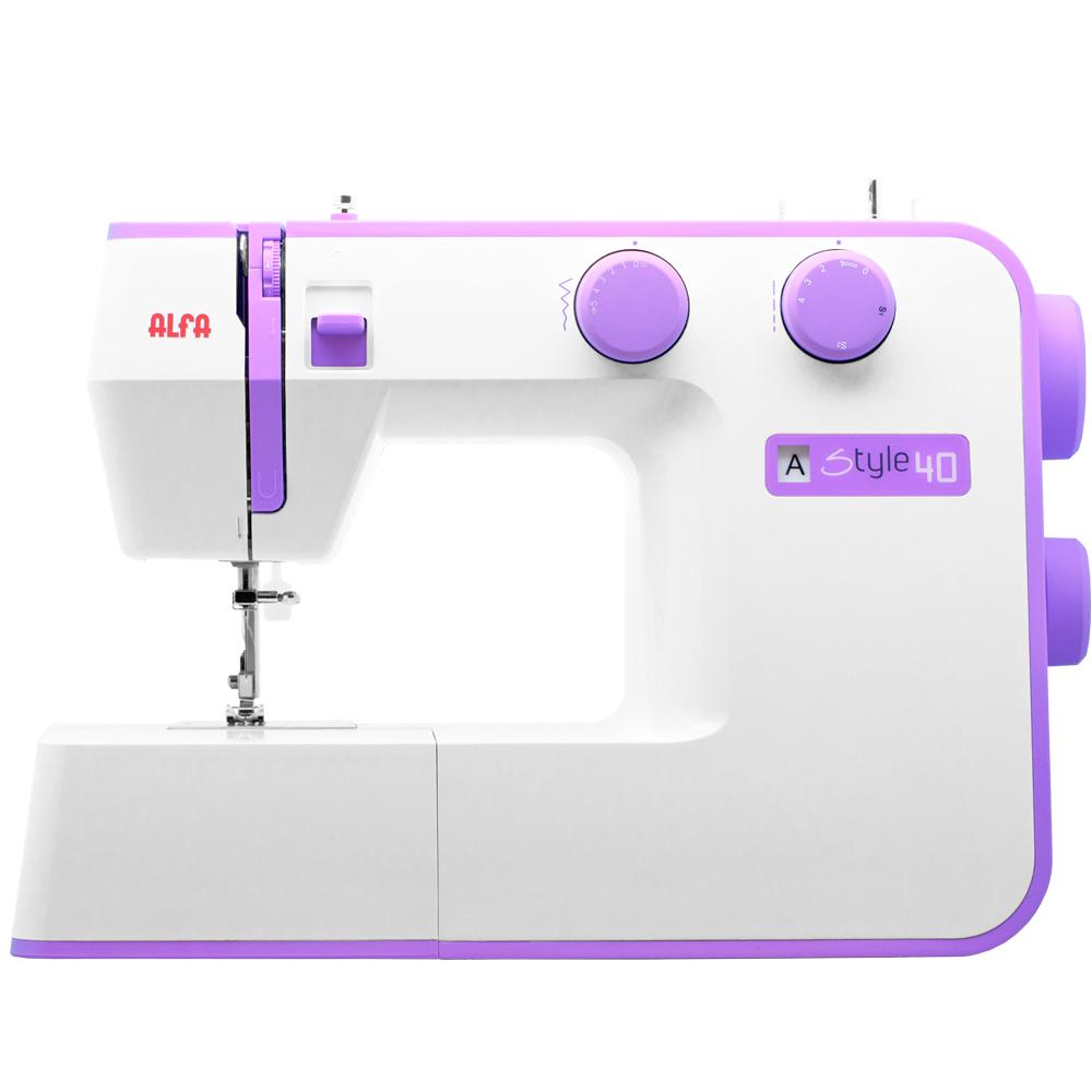 Imagen de Máquina de coser Alfa Style 40 (31 puntadas)