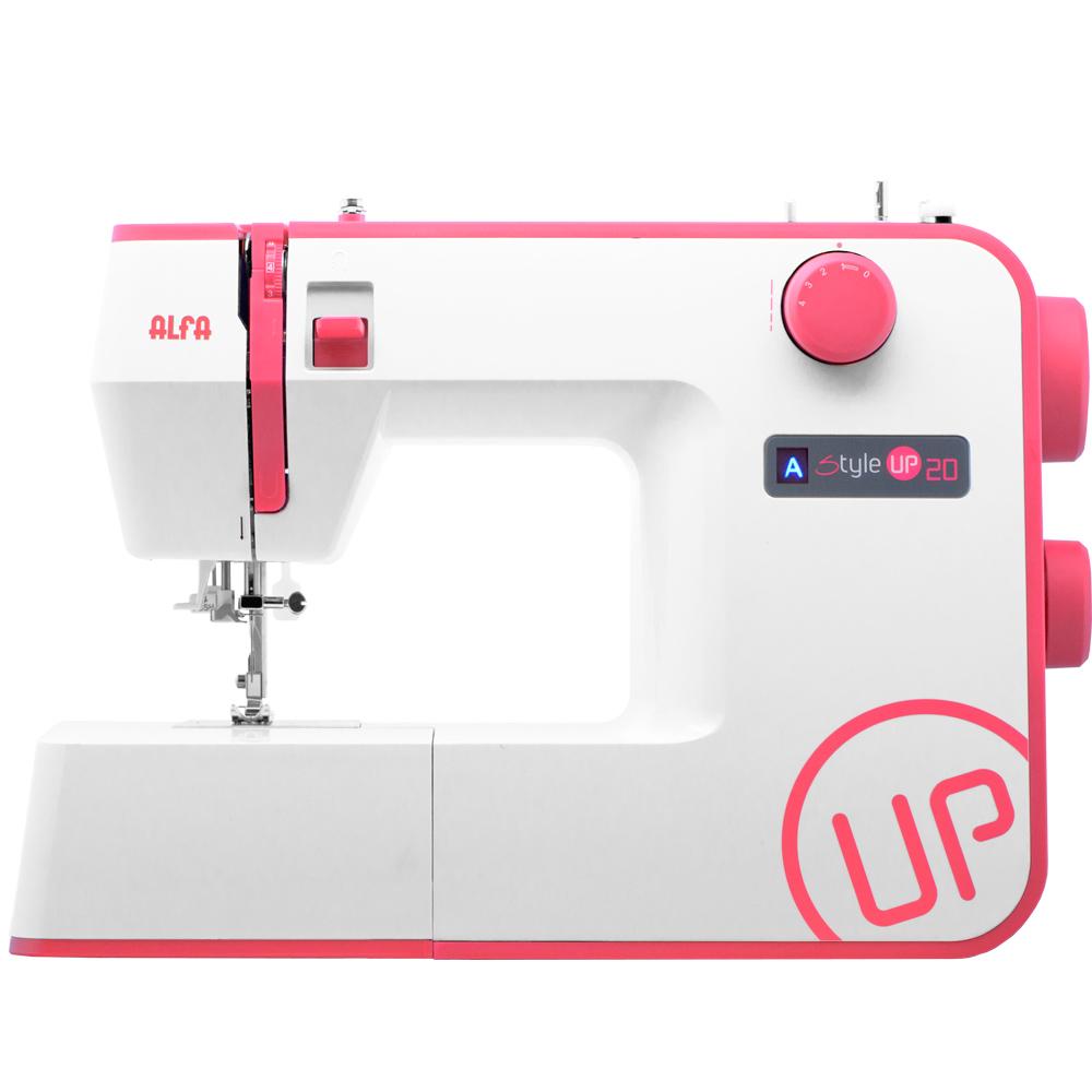 Imagen de Máquina de coser Alfa Style UP 20, 12 puntadas y enhebrado automático