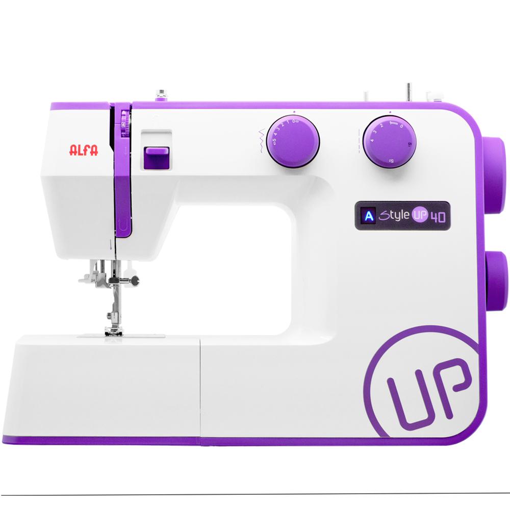 Imagen de Máquina de coser Alfa Style UP 40, 34 puntadas y enhebrado automático