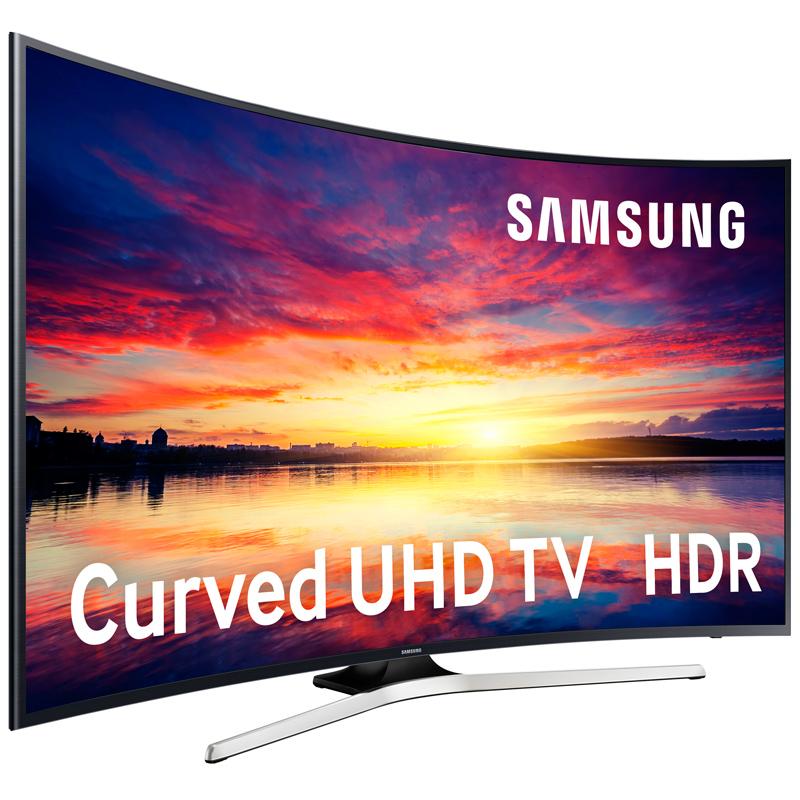 """Imagen de Pantalla LED CURVO LCD de Samsung UE49KU6100 de 49"""" 4K UHD 1400Hz"""