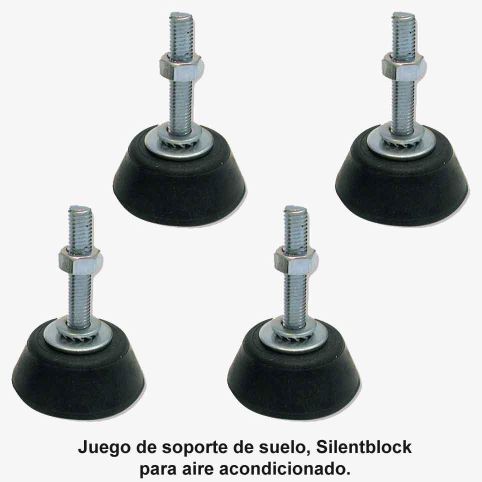 Imagen de Juego de amortiguadores de suelo para aire acondicionado (silentblock)