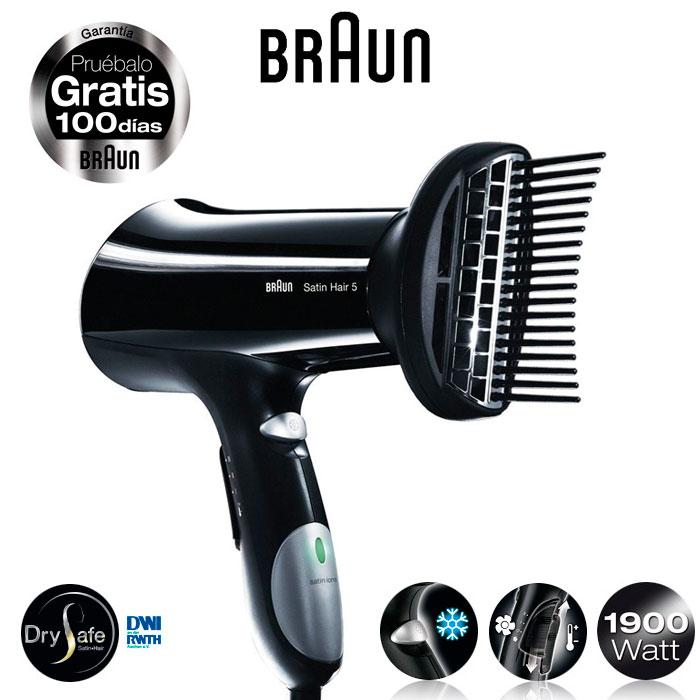 Imagen de Secador para el cabello BRAUN Satin Hair 5 HD-550 1900W Alisado