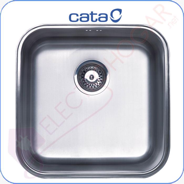 Imagen de Fregadero CATA CB-40-40, Bajo encimera, mueble de 50cm