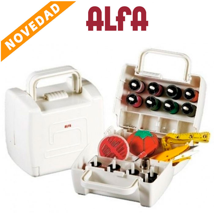 Costurero mini Alfa, set de 12 piezas