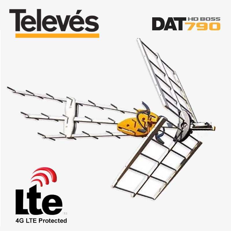 Imagen de Antena Televes DAT HD BOSS 790 con filtro LTE.