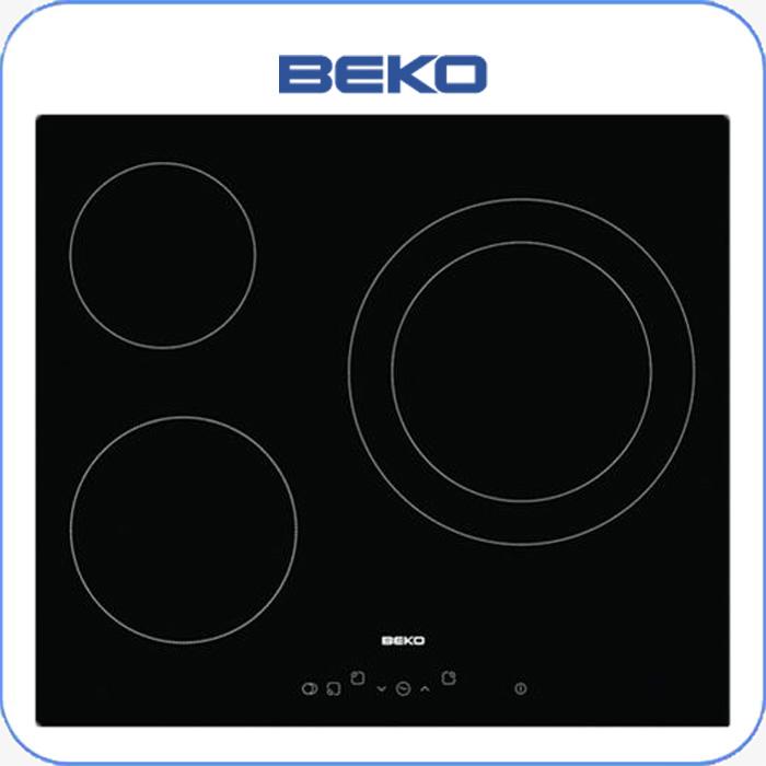 Imagen de Encimera vitrocerámica digital BEKO HIC63401T 3 zonas de cocción, touc