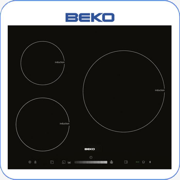 Imagen de Encimera inducción digital BEKO HII63500T 3 zonas, sistema booster.