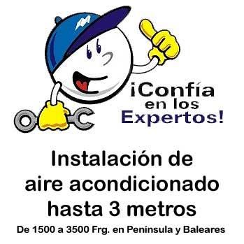 Imagen de Instalación de aire acondicionado hasta 3500Frg (materiales incluidos)