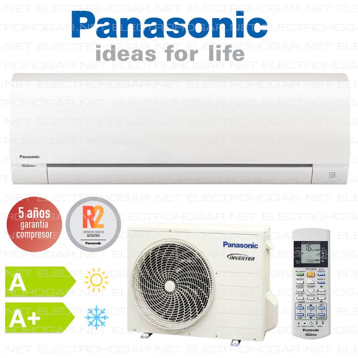 Aire acondicionado panasonic inverter consumo for Aire acondicionado portatil ansonic