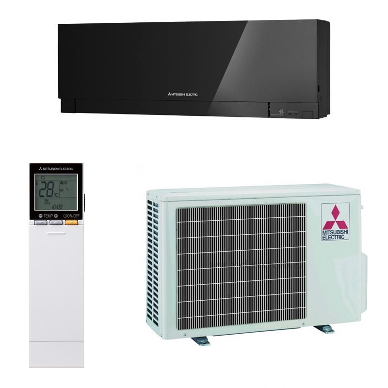 Aire acondicionado inverter mitsubishi msz ef25ve2b color for Aire acondicionado 3500 frigorias inverter