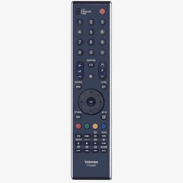 Imagen de Mando a distancia original Toshiba modelo CT-90287 igual al CT90273