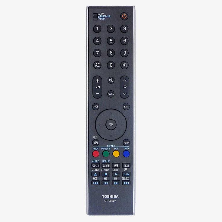 Imagen de Mando a distancia original Toshiba modelo CT-90327 = CT90344