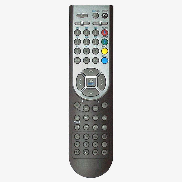 Imagen de Mando a distancia original LCD + DVD RC1900 OKI, NEVIR, TD Systems...