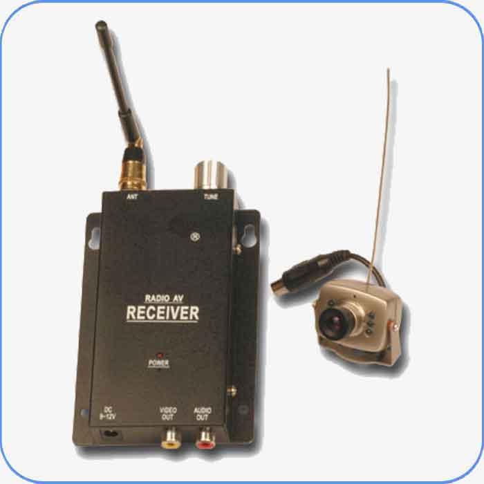 Imagen de Camara Inalambrica de seguridad / vigilancia, video en color y sonido.