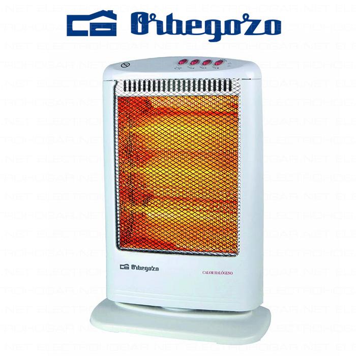 Imagen de Calentador halógeno Orbegozo BP-0303-A 1200W oscilante