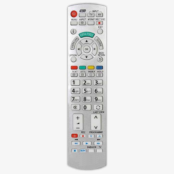 Imagen de Mando a distancia replica de diferentes modelos de mandos Panasonic