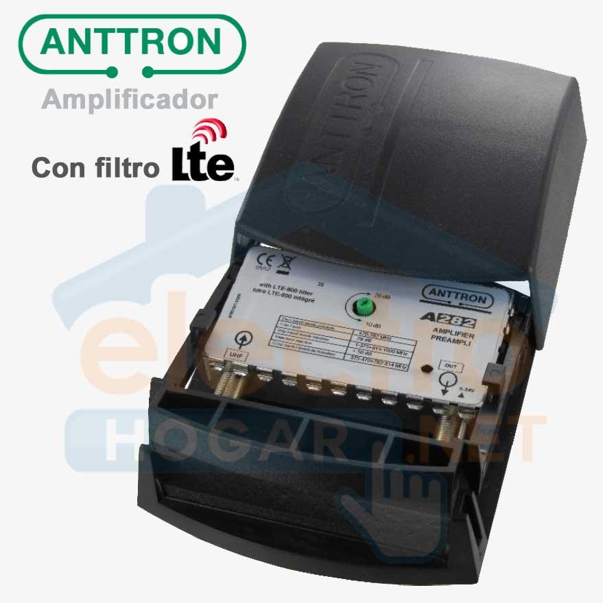 Imagen de Amplificador de mástil para antenas Anttron A282 con filtro LTE 4G