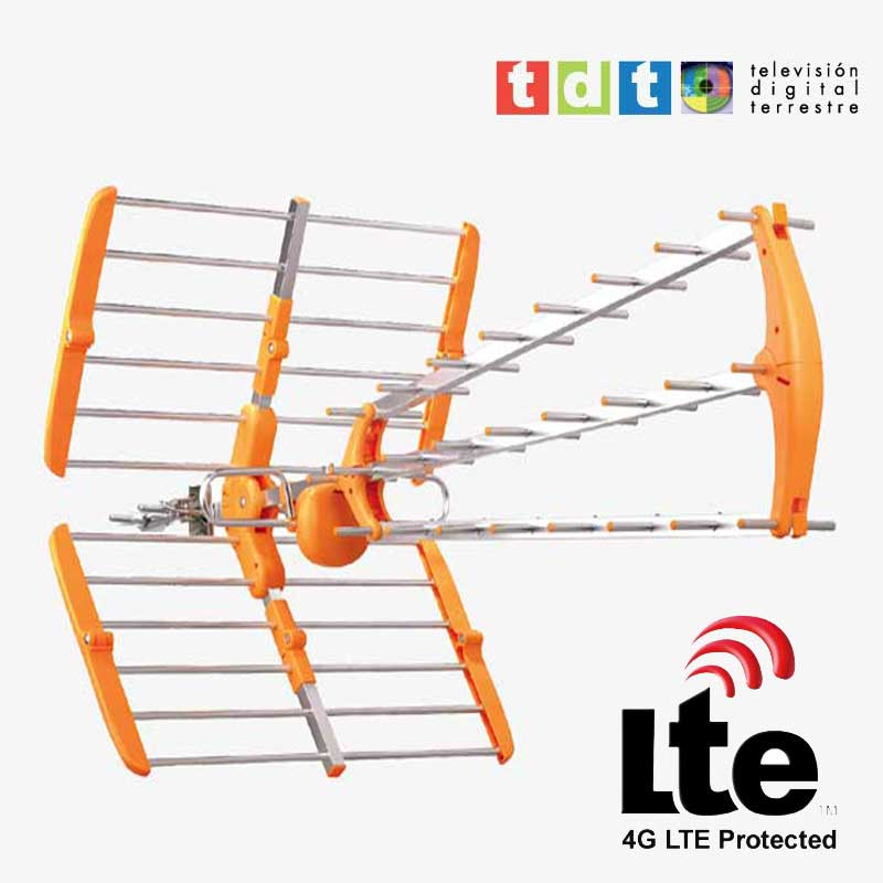 Imagen de Antena de UHF para TDT con filtro LTE (4G) modelo SMT82LTE