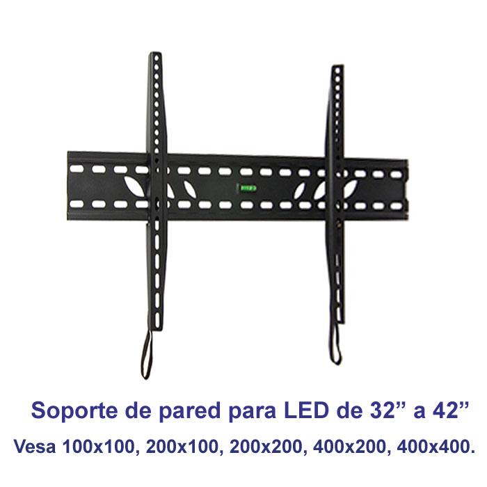 "Imagen de Soporte de pared fijo modelo SSP-310N para pantallas de 32"" a 42"""