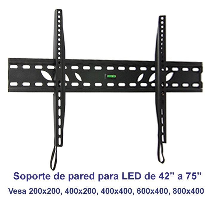"Imagen de Soporte de pared fijo modelo SSP-314N para pantallas de 42"" a 75"""