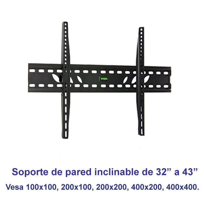 "Soporte de pared inclinable SSP-326N para pantallas de 32"" a 43"""