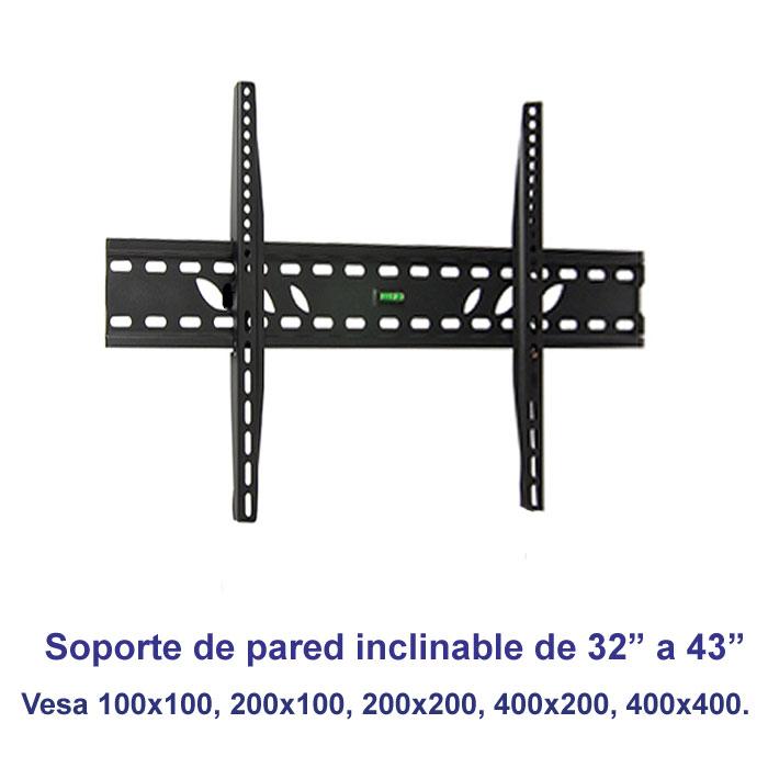 "Imagen de Soporte de pared inclinable SSP-326N para pantallas de 32"" a 43"""