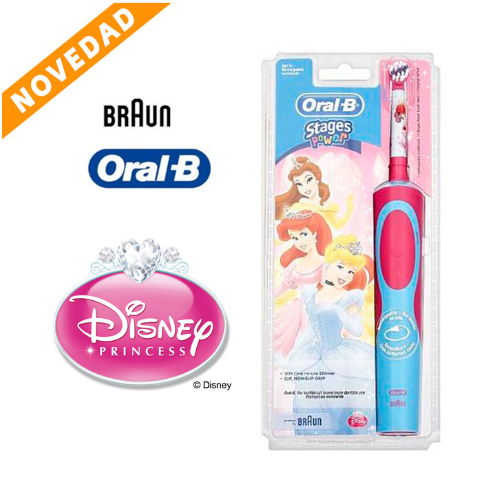 Cepillos eléctricos Oral-B Stages Power (Princesas)