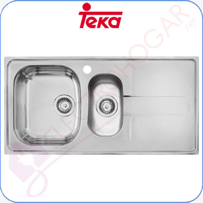 Imagen de Fregadero Teka Stena 60 B, Acero inoxidable 18/10, profundidad 162mm y