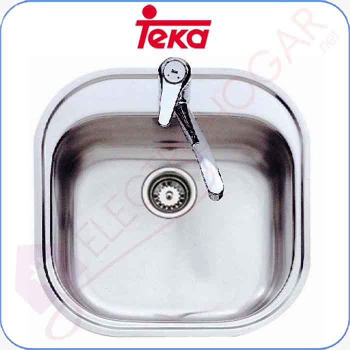Imagen de Fregadero Teka Stylo 1C Acero inoxidable 18/10, profundidad 165mm, 465