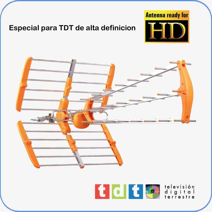 Imagen de Antena TDT-UHF. SMT8200 diseñada para recepción TDT y TDTHD