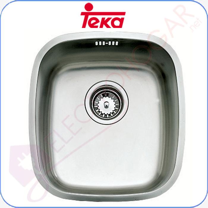 Imagen de Fregadero Teka BE 34.37, Bajo encimera, mueble de 45cm